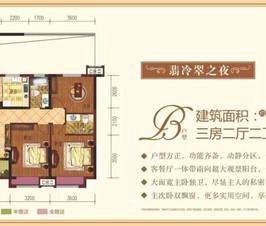 户型鉴赏|景江豪庭108-135㎡户型,漂亮得不像实力派!
