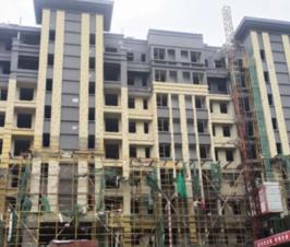 广济府-2020年9月工程进度精雕细琢,渐入家境
